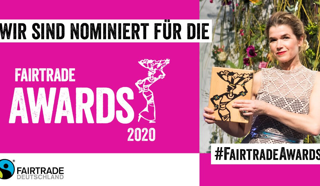 """Small Talk"" is nominated for the German Fairtrade Awards 2020"
